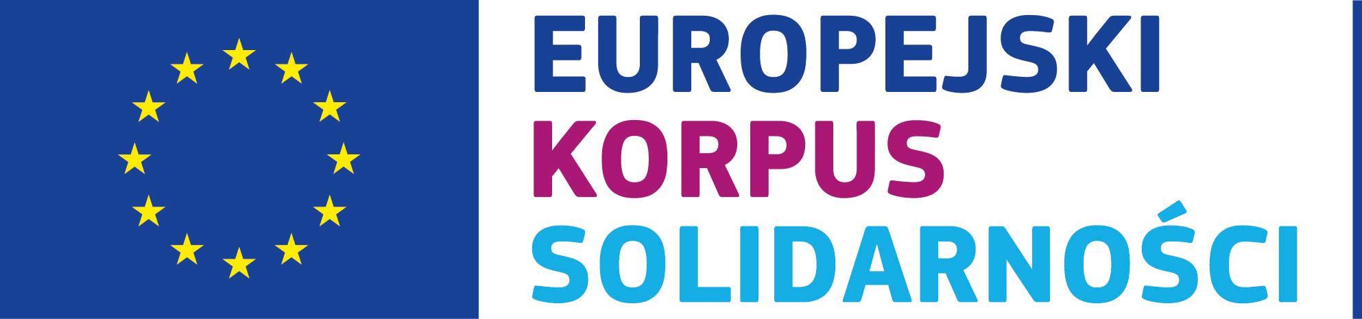logo Europejski Korpus Solidarności
