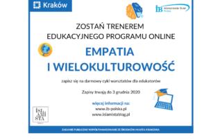 Empatia i wielokulturowość - warsztaty dla nauczycieli i edukatorów