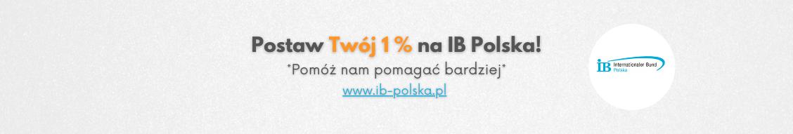 Postaw Twój 1 procent na IB Polska - pomóż nam pomagać bardziej!