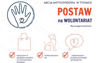 Akcja Antycovidowa - Tyskie Centrum Wolontariatu