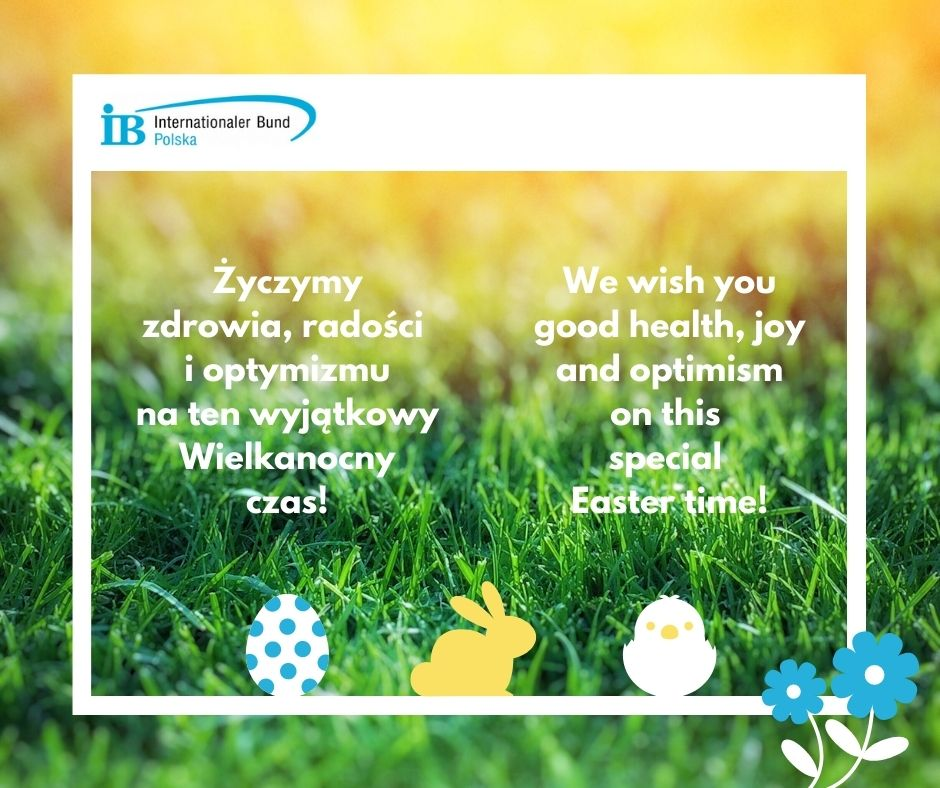 Życzymy zdrowia, radości i optymizmu na ten wyjątkow Wielkanocny czas