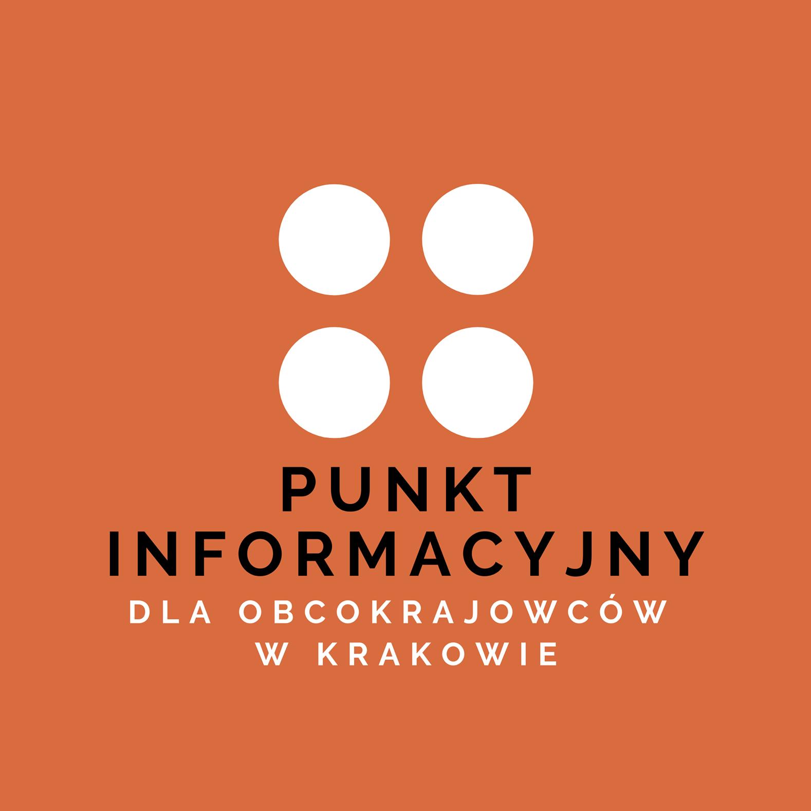 Punkt Informacyjny dla Obcokrajowców logo - Migrant Infopoint in Krakow