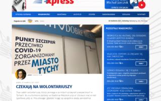 Nabór wolontariuszy do akcji szczepień - Tyskie Centrum Wolontariatu w Radio Express 92.3 FM
