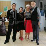 Senioriada 2021 w Tychach - seniorzy z Klubu Seniora Platyna na imprezie - zdjęcia z wydarzenia