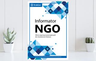 Informator NGO w Krakowie (okładka)