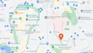 mapa aleja daszyńskiego 22 ib polska
