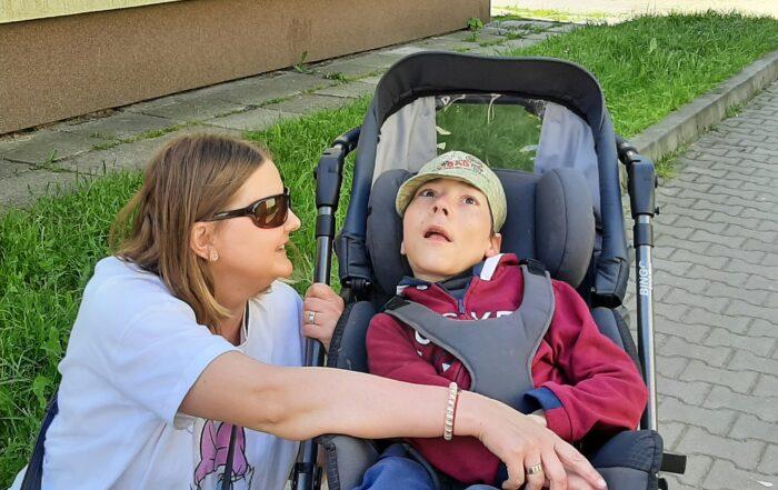 Asystent osobisty osoby z niepełnosprawnościami - podopieczny Daniel, asystentka Agnieszka