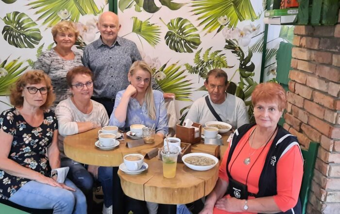 Międzynarodowe Senioralia w Krakowie - seniorzy z Kluby Seniora Platyna