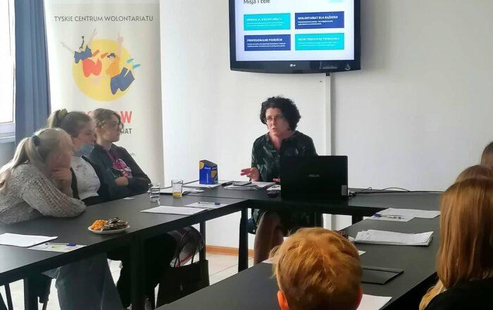 Tyskie Centrum Wolontariatu - spotkanie Zostań wolontariuszem w Tychach