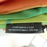 Worki szkolne z flag Mistrzostw Świata U-20