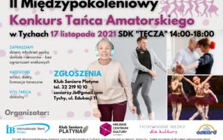 II Międzypokoleniowy Konkurs Tańca Amatorskiego w Tychach - 17 listopada Tęcza